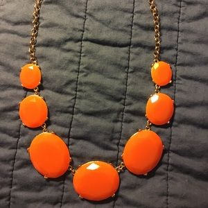 Tasha orange & gold adjustable necklace 🎃